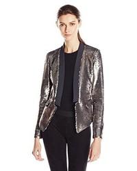 Greylin Kanal Sequin Blazer Jacket