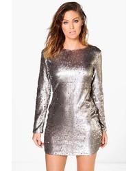 Boohoo Boutique Fliss Sequin Bodycon Dress