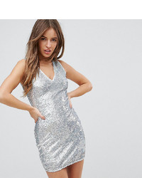 Parisian Petite Sequin Dress