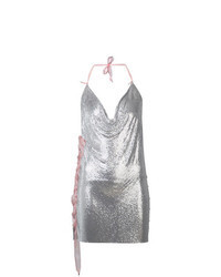Silver Sequin Cami Dress