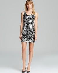 Aqua Tank Dress Sequin