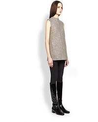Saint Laurent Sequined A Line Mini Dress