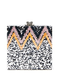LIKE DREAMS Alexa Sequin Box Clutch