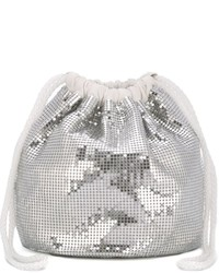 Paco Rabanne Sequin Embellished Pouch Bag