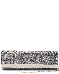 Kate Landry Sequin Bar Flap Clutch