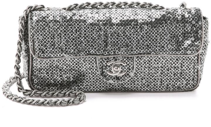 da85d56bb10131 What Goes Around Comes Around Chanel Sequin Half Flap Bag, $3,400 ...