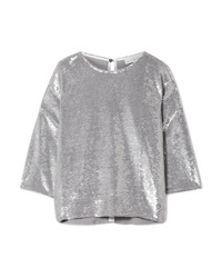 IRO Naphe Oversized Sequined Cotton T Shirt