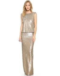 Colette sequin gown medium 268285