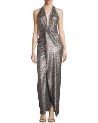 6cd0a95cbf5555 Women's Silver Evening Dresses by Halston | Women's Fashion ...