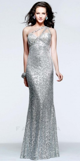 Faviana Illusion One Strap Prom Dress | Where to buy & how to wear