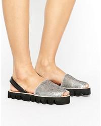 Sequin flat sandal medium 3708020