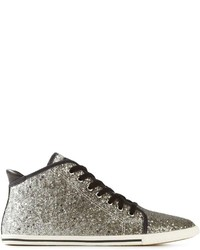 Marc by Marc Jacobs Skim Kicks Hi Top Glitter Sneakers