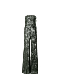 Alexis Sequined Strapless Jumpsuit