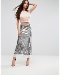 Premium sequin midaxi skirt medium 4420690