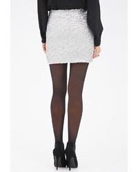 b20be448fe Forever 21 Contemporary Sequined Mini Skirt, $22 | Forever 21 ...