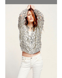 Free People Shine Thru Sequin Cardigan | Where to buy & how to wear