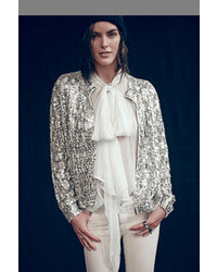 Free people shine thru sequin cardigan medium 111246