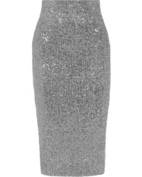 Rebecca Vallance Andree Sequined Tulle Midi Skirt