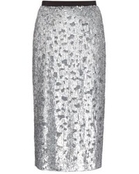 Burberry London Sequin Embellished Pencil Skirt