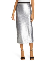 Cinq à Sept Paula Sequin Pencil Skirt