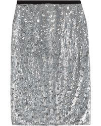 Burberry Sequin Skirt