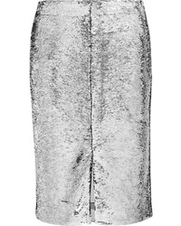 Ganni Sonora Sequined Satin Skirt