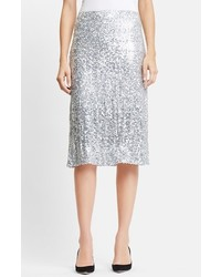 Nina Ricci Washed Sequin Skirt