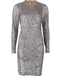 Michael Kors Michl Kors Sequined Tulle Dress