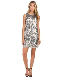 Vince Camuto Floral Sequins Shift Dress
