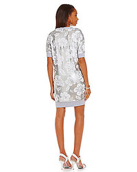 a3abe47b5004 ... MICHAEL Michael Kors Michl Michl Kors Coral Bay Sequined French Terry  Shift Dress
