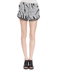 Thakoon Addition Sequined Relaxed Shorts
