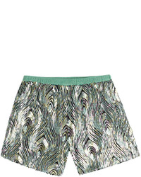 Rainbow sequin tulle shorts medium 289282