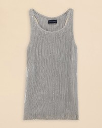 Ralph Lauren Childrenswear Girls Ribbed Sequin Tank Top Sizes S Xl