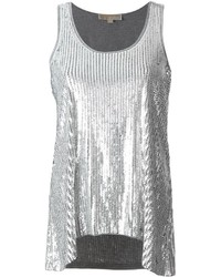 MICHAEL Michael Kors Michl Michl Kors Sequined Tank Top
