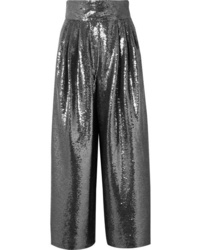 Marc Jacobs Sequined Tulle Wide Leg Pants