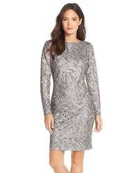 Silver Sheath Dress