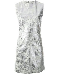 Silver Shift Dress