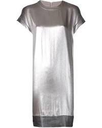 Brunello Cucinelli Metallic Sheath Dress