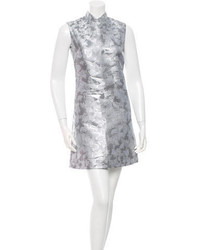 Mary Katrantzou Metallic Patterned Dress W Tags