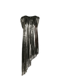 Lanvin Metallic Asymmetric Dress