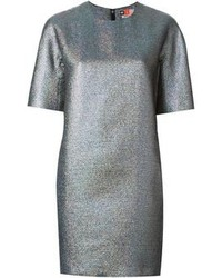 MSGM Metallic Shift Dress