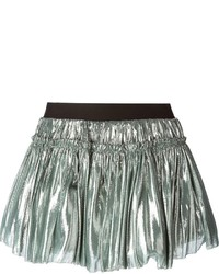 Faith Connexion Flared Metallic Skirt