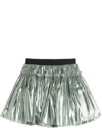 Faith Connexion Metallic Mini Skirt