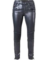 Diesel Coated Skinny Trousers