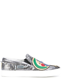 Marc Jacobs Mercer Night And Day Slip On Sneakers