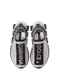 Dolce & Gabbana Sorrento Jeweled Logo Sneaker