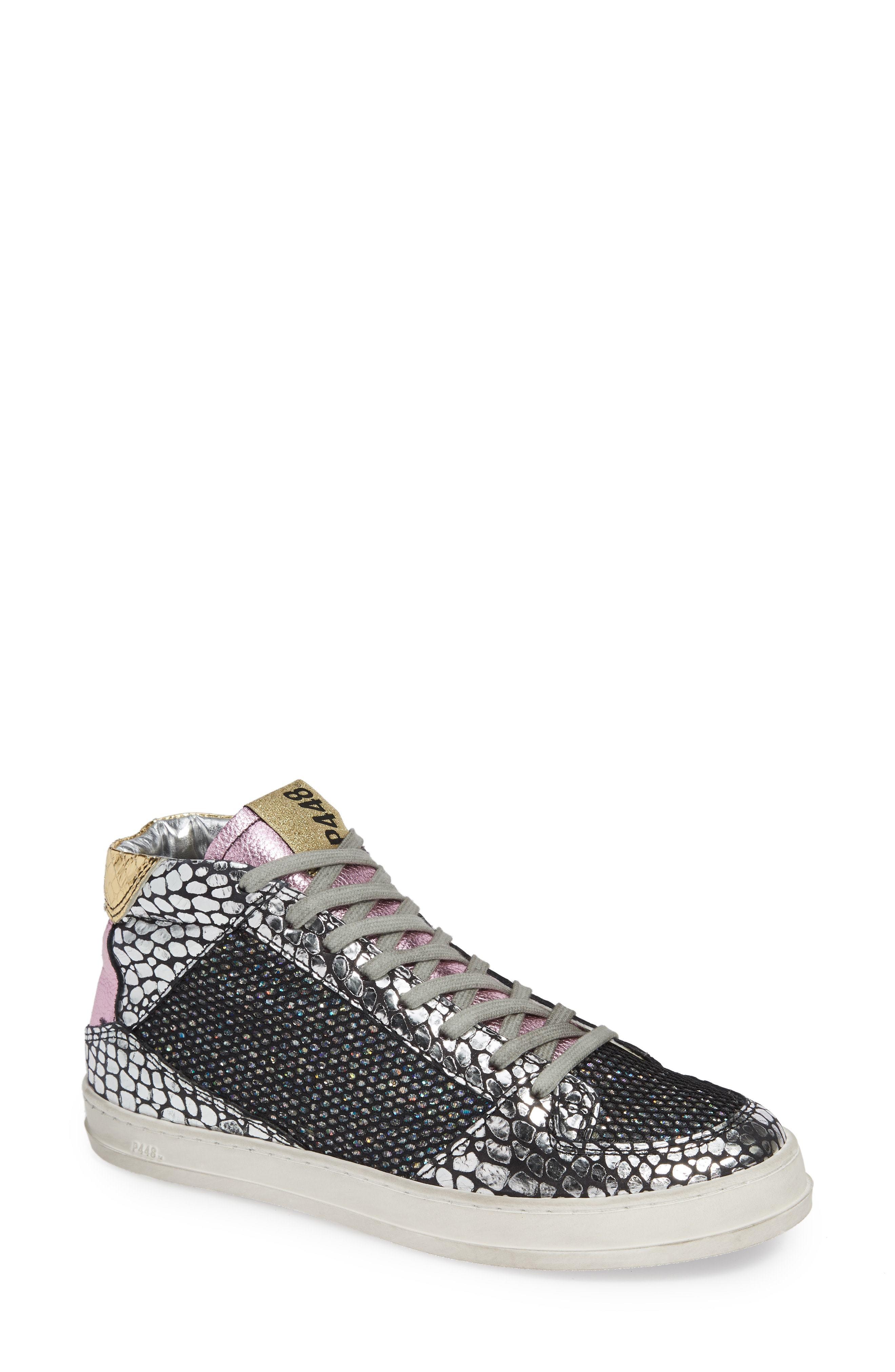 P448 Queens Mid Sneaker, $177