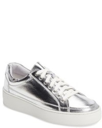 Free People Letterman Platform Sneaker