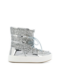 Silver Snow Boots for Women | Lookastic
