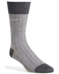 BOSS Paul Cotton Blend Crew Socks